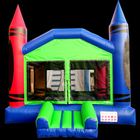 castillo inflable CrayonGL064