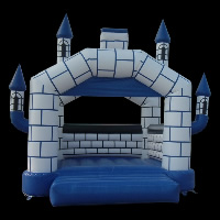 Castillo Hinchable AzulGB007