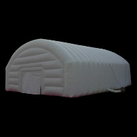 Blanco carpa inflable al aire libreGN042